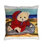 Chef Cappy's Beach Vacation Everyday Pillow