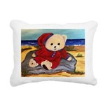 Chef Cappy's Beach Vacation Rectangular Canvas Pil