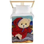 Chef Cappy's Beach Vacation Twin Duvet Cover