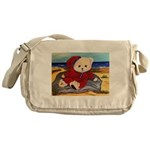 Chef Cappy's Beach Vacation Messenger Bag
