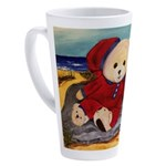 Chef Cappy's Beach Vacation 17 oz Latte Mug