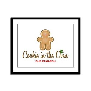 Due March Cookie Framed Panel Print