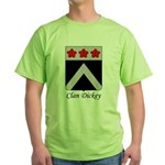 Clan Dickey Coat of Arms T-Shirt (green)