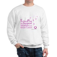 Tickled Breastcancer.org Sweatshirt