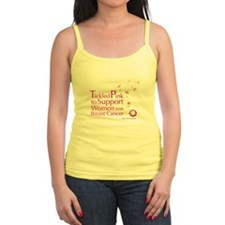 Tickled Breastcancer.org Jr. Spaghetti Tank