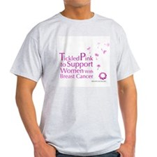 Tickled Breastcancer.org Light T-Shirt