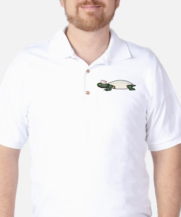 Navy Turdy Golf Shirt