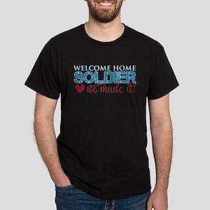 We Made it Soldier Dark T-Shirt