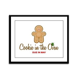 Due May Cookie Framed Panel Print