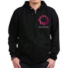 Breastcancer.org Zip Hoodie (dark)