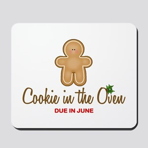 Due June Cookie Mousepad