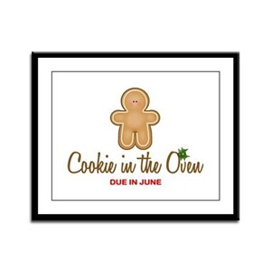 Due June Cookie Framed Panel Print