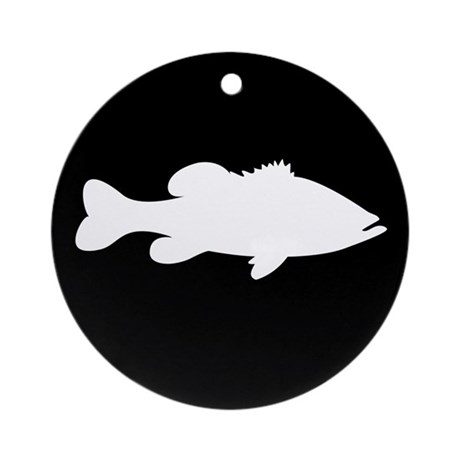 SIMPLY BASS Ornament (Round)