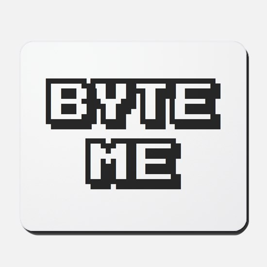 'Byte Me' Mousepad