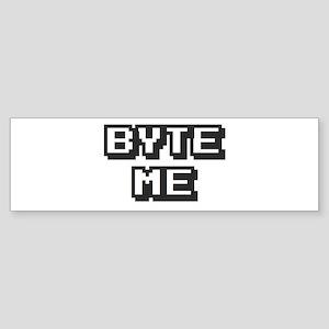 'Byte Me' Sticker (Bumper)