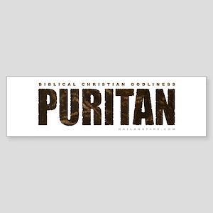 Puritan Godliness (Bumper Sticker)