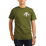 RN Medical Symbol Organic Men's T-Shirt (dark)