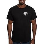 RN Medical Symbol Men's Fitted T-Shirt (dark)
