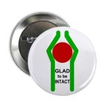 Glad To Be Intact Button