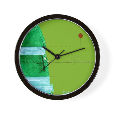 """""""Green Hill"""" Wall Clock"""