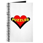 Puzzles Heart Journal