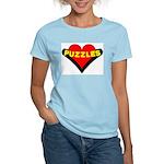 Puzzles Heart Women's Light T-Shirt
