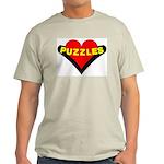 Puzzles Heart Light T-Shirt
