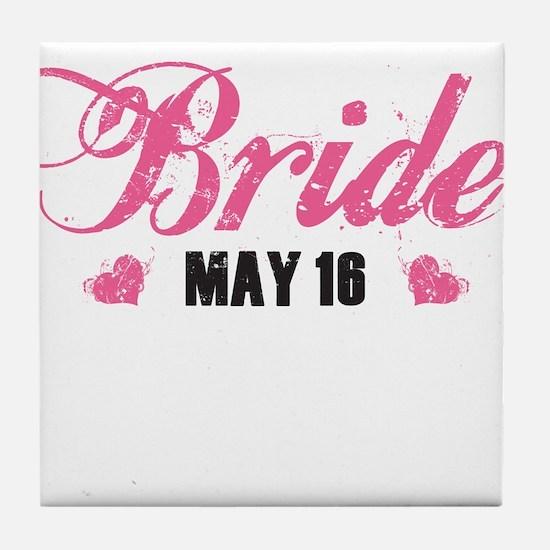Cute Bride 2010 Tile Coaster