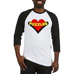 Puzzles Heart Baseball Jersey