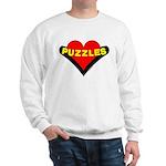 Puzzles Heart Sweatshirt