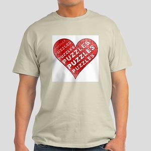 Jigsaw Puzzle Heart Light T-Shirt