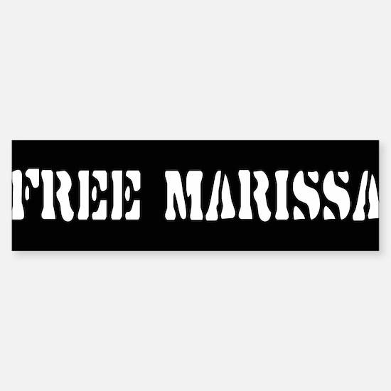 FREE MARISSA ~ Bumper Bumper Bumper Sticker