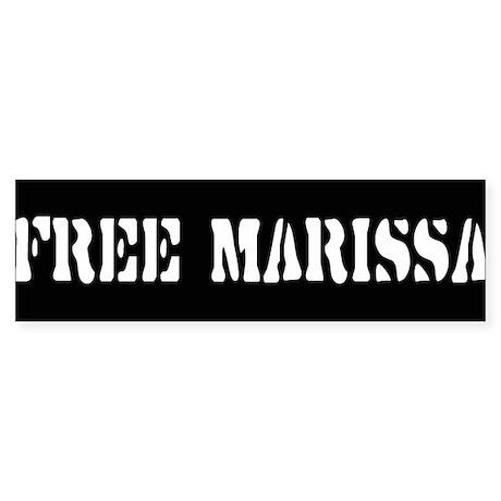 FREE MARISSA ~ Bumper Sticker