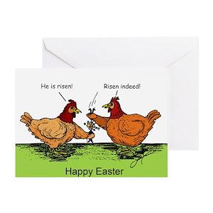 Funny chicken greeting cards cafepress m4hsunfo
