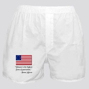 Dissent Thomas Jefferson Boxer Shorts