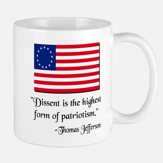 Dissent Thomas Jefferson Mug