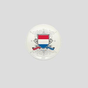 Netherlands Shield Mini Button