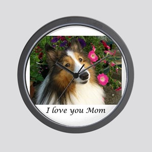 I love you Mom Wall Clock