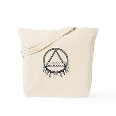 Serenity Triangle Tote Bag