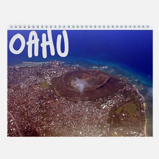 Oahu, Hawaii Wall Calendar