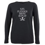 Sail Plunder Drink Repeat T-Shirt