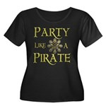 Party Like A Pirate Plus Size T-Shirt