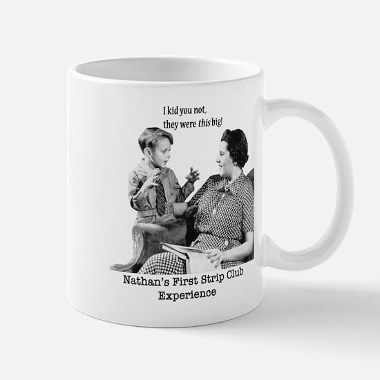 'First Time'Ceramic Mug