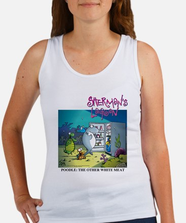 Poodle: The Other White Meat Women's Tank Top
