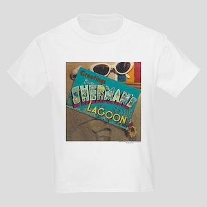 Postcard Greetings Kids Light T-Shirt