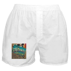 Postcard Greetings Boxer Shorts