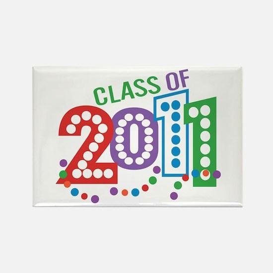 Class 11 Celebration Rectangle Magnet (100 pack)