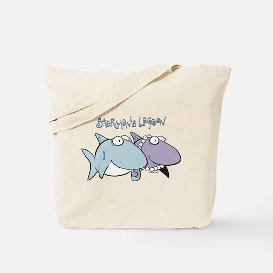 Sherman & Megan with Logo Tote Bag