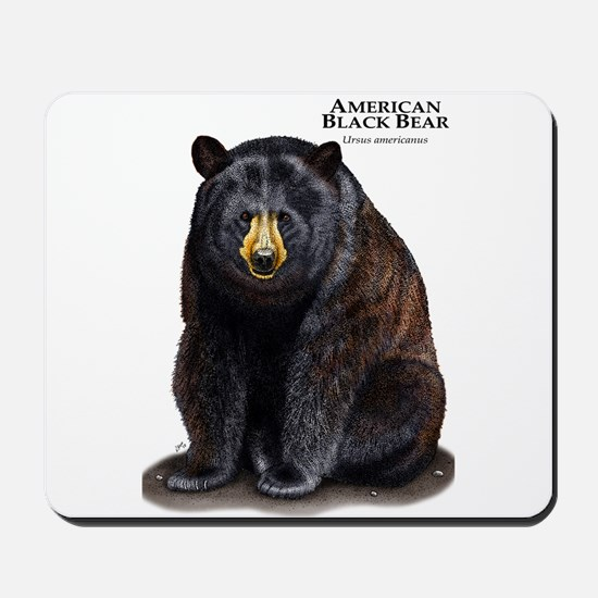 American Black Bear Mousepad