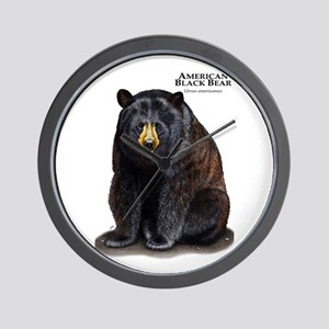 American Black Bear Wall Clock